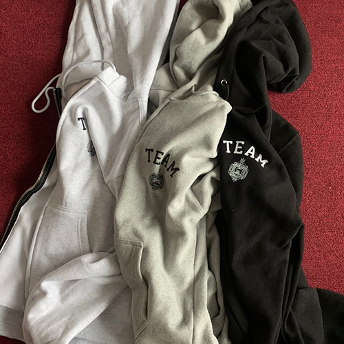 TEAM HOODY ZIP UP